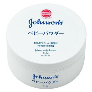 ジョンソン・エンド・ジョンソン J&J ベビーパウダープラスチック容器140g【単品】|ecjoyecj27