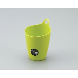イノマタ化学 ライズ(小物入れ、スタンド/フック両用タイプ) ミニ グリーン サイズ:直径約96×高さ137mm|ecjoyecj27