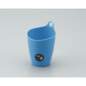 カウモール ライズ(小物入れ、スタンド/フック両用タイプ)  ミニ ブルー サイズ:直径約96×高さ137mm|ecjoyecj27