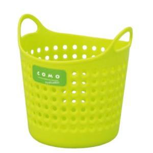 イノマタ化学 コモバスケット(ソフトな小物入れ)  ミニ グリーン サイズ:直径約110×112mm|ecjoyecj27