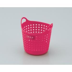 イノマタ化学 コモバスケット(ソフトな小物入れ) ミニ ローズピンク サイズ:直径約110×112mm|ecjoyecj27