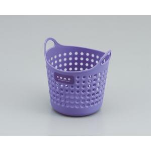 イノマタ コモバスケット(ソフトな小物入れ) ミニ バイオレット サイズ:直径約110×112mm|ecjoyecj27