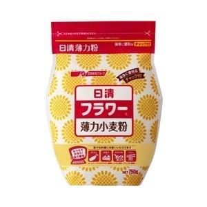 日清フーズ 日清 チャック付フラワー(小麦粉)750g【単品】|ecjoyecj27