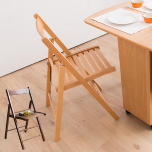 折りたたみ椅子 木製 北欧 モダン シンプル コンパクト|eckagudepo