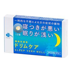 【指定第2類医薬品】 くらしリズムMEDI ドリムケア 12錠入|eckyorindo2525