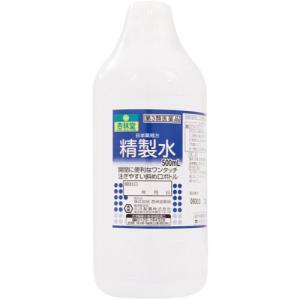 【第3類医薬品】 日本薬局方 精製水 500mL