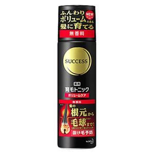 【医薬部外品】 花王 サクセス 薬用 育毛トニック ボリュームケア 無香料 180g
