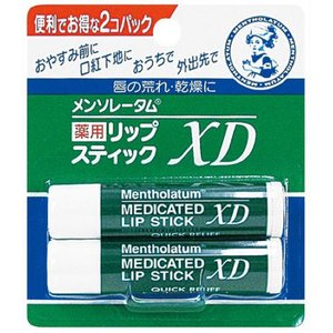 ロート製薬 メンソレータム 薬用 リップスティックXD 2コパック 4.0g×2個
