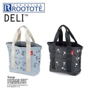 ■商品名:ROOTOTE ミニバッグ DELI PEANUTS スヌーピーはっ水加工 デリ ルートー...