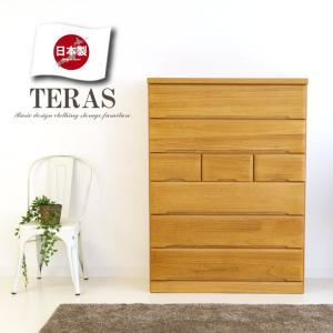 安心の日本製 天然木桐材の質感に、シンプルなデザインがおしゃれなで上品なハイチェストです。   ■ ...