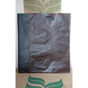 小判抜き袋HDA3タイプ「茶」[平袋手提げ]:50枚|eco-db-shop-by-ss
