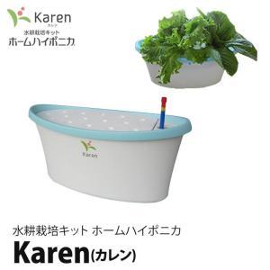 水耕栽培キット ホームハイポニカ Karen (カレン) ブルー