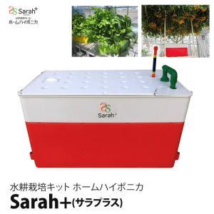 水耕栽培キット ホームハイポニカSarah+ (サラプラス)レッド(赤)