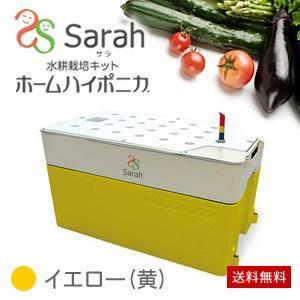 水耕栽培キット・ホームハイポニカSarah(サラ)イエロー(黄) 在庫限りで販売終了