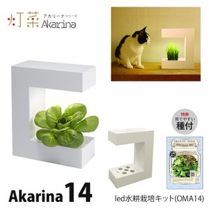 LED 水耕栽培 Akarina14 (アカリーナ) OMA14