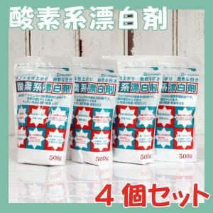 過炭酸ナトリウム 酸素系漂白剤 粉末 500g 4個セット洗濯槽クリーナー 酸素系 除菌 洗濯槽 防止 地の塩社|eco-kitchen
