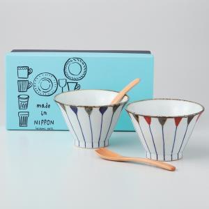 サイズ  飯碗:直径11.5×7cm 材質  器:陶器、スプーン:木 容量  300ml 備考  電...