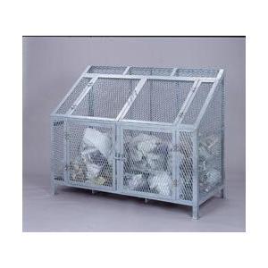 ダストBOX CS-08 1500mmタイプ 溶融亜鉛メッキ 750L (直送品) リサイクル・回収ボックスの商品画像 ナビ