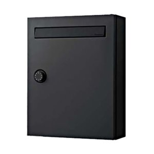 パナソニック サインポスト CLEAS(クリアス) FF(戸建・集合住宅兼用) CTCR2502TB 鋳鉄ブラック色 ダイヤル錠 前入れ前取り出し 【送料別途】 KSK|eco-life