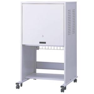 ナカバヤシ フラップ式扉 セキュリティパソコンラック(17インチモニタ+タワー型PCタイプ) PSS-201 ※お客様組立品 送料無料|eco-life