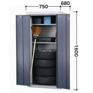 【タカヤマ×環境生活】物置 屋外収納 スチール 物置 タカヤマ物置 オープンストッカー TMH-1667  お客様組立品 送料無料|eco-life