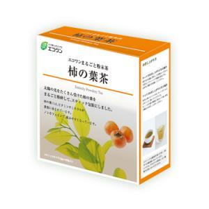エコワン 柿の葉茶 粉末スティック 30包入 島根県産 粉末茶|eco-one