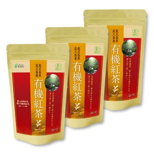 エコワン 有機紅茶 ティーバッグ 24包入×5袋(120杯分) 屋久島産|eco-one