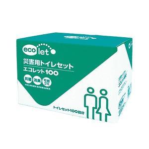 災害用トイレ エコワン エコレット100 4人以上4〜5日目安(お得用100回分)|eco-one