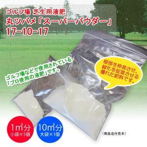 【送料無料】スーパーパウダー(芝生用液肥) 1平米用(20g)×5袋|eco-square