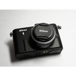 超美品 Nikon 1 V1 薄型レンズキット ブラック 中...