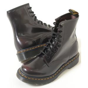 Dr.Martens 1460 8EYE BOOT CHERRY RED ARCADIA ドクターマーチン 8ホール ブーツ チェリーレッド アルカディア メンズ 13661601|eco-styles-honey