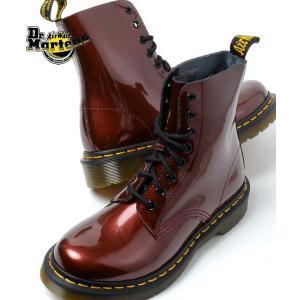 Dr.Martens PASCAL 8HOLE BOOT CHERRY RED ドクターマーチン パスカル 8ホール ブーツ チェリーレッド|eco-styles-honey