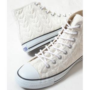 CONVERSE ALL STAR SWEATER ND(A) HI コンバース オールスター スウェッターハイ ホワイト メンズ スニーカー eco-styles-honey