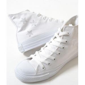CONVERSE ALL STAR RINESTONE コンバース オールスター ラインストーン ホワイト メンズ スニーカー eco-styles-honey