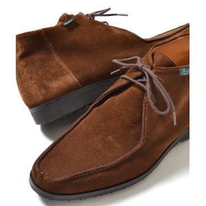 PARA BOOT VAL/BALNEO パラ ブーツ スエード ブラウン メンズ スニーカー|eco-styles-honey