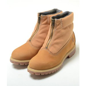 【訳あり】Timberland PREMIUM ZIP TOP BOOTS ティンバーランド プレミアム ジップ トップ ブーツ ライトブラウン メンズ シューズ 6614aw eco-styles-honey