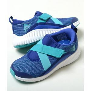 【17cm-21cm】adidas FortaSlipon K アディダス フォルタ スリッポン K ブルー ベビー BABY キッズ KIDS スニーカー 子供靴  ah2470 eco-styles-honey
