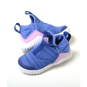 【13cm-16cm】adidas EazyFlex I アディダス イージーフレックス I ブルー×ピンク ベビー BABY キッズ KIDS スニーカー 子供靴  ah2535 eco-styles-honey