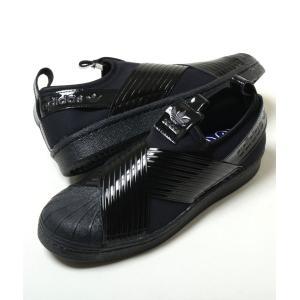 adidas SUPERSTAR SLIP ON OUT LOUD W アディダス スーパースター スリッポン アウト ラウド W ブラック メンズ スニーカー bd8055m eco-styles-honey