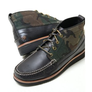 COLE HAAN Pinch Rugged Chukka コールハーン ピンチ ラギッド チャッカ ブラック×カモ メンズ ブーツ シューズ c27296 eco-styles-honey