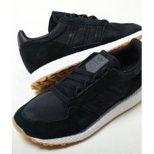 adidas FOREST GROVE アディダス フォレスト グローブ ブラック メンズ スニーカー cg5673|eco-styles-honey