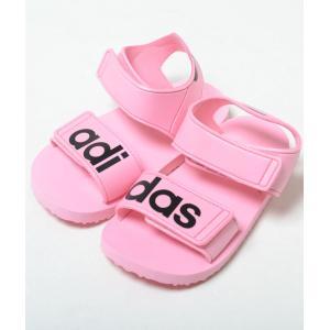 【12cm-16cm】adidas BEACH SANDAL I アディダス ビーチサンダル ピンク ベビー BABY キッズ KIDS スニーカー サンダル 子供靴 cg6602 eco-styles-honey
