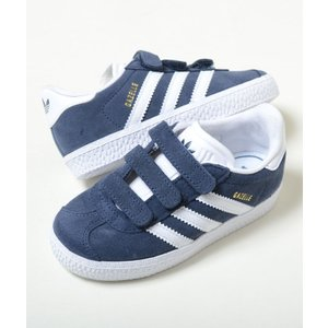【13cm-16.5cm】adidas GAZELLE CF I アディダス ガゼル CF 1 ネイビー ベビー BABY キッズ KIDS スニーカー 子供靴  cq3138 eco-styles-honey