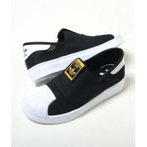 【17cm-21.5cm】adidas SS SMR 360 C アディダス スーパースター SMR 360 C ブラック ベビー BABY キッズ KIDS スニーカー 子供靴 スリッポン db0924 eco-styles-honey