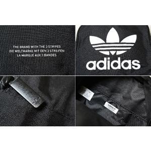 adidas BACKPACK CLASSIC TREFOIL アディダス バックパック クラシック トレフォイル リュック ブラック dj2170|eco-styles-honey|02