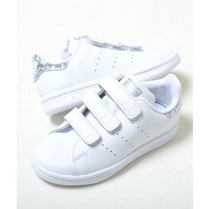 【17cm-21.5cm】STAN SMITH CF C アディダス スタンスミス CF C ホワイト キッズ ベビー kids baby スニーカー 子供靴 ee8484 eco-styles-honey