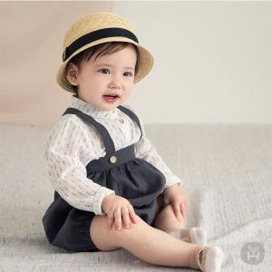 子供服 ベビー服 シャツ ブラウス HAPPY PRINCE  ベビー KIDS キッズ コットン  リネン お出かけ 1歳 2歳 夏 シンプル 上品 フォーマル カジュアル ベーシック eco-styles-honey