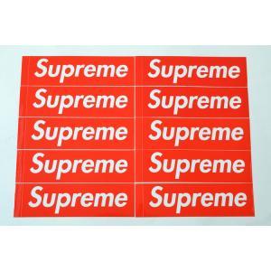 10枚セット 定番★Supreme シュプリーム ステッカー ボックスロゴ box logo sticker|eco-styles-honey