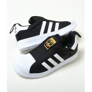 【17cm-21.5cm】adidas Superstar 360 C アディダス スーパースター 360 C ブラック ベビー BABY キッズ KIDS スニーカー 子供靴 s32130 eco-styles-honey