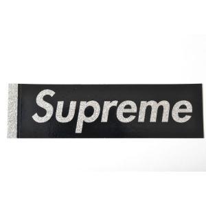 Supreme sticker Glitter Box Logo Sticker シュプリーム ステッカー グリッター ピカピカ ボックスロゴ ブラック